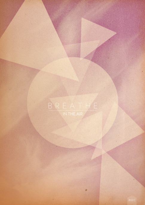 Breathe in the air - créa de 366 cool things