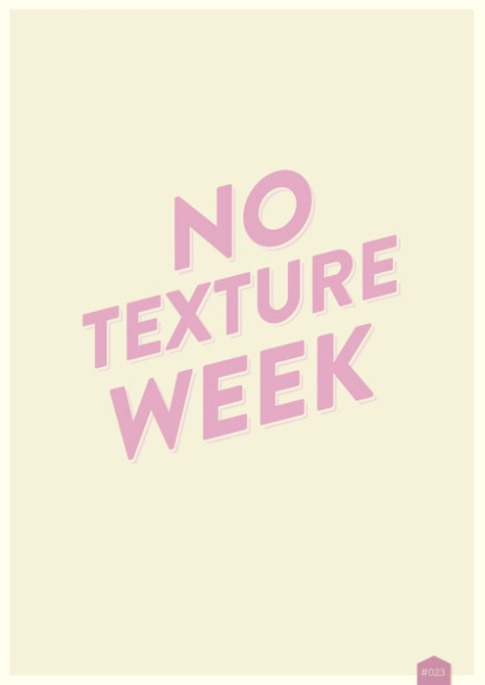No texture week - créa de 366 cool things